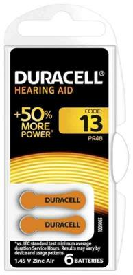 BATTERIA DURACELL EASY TAB 13 ACOUSTIC CF.6