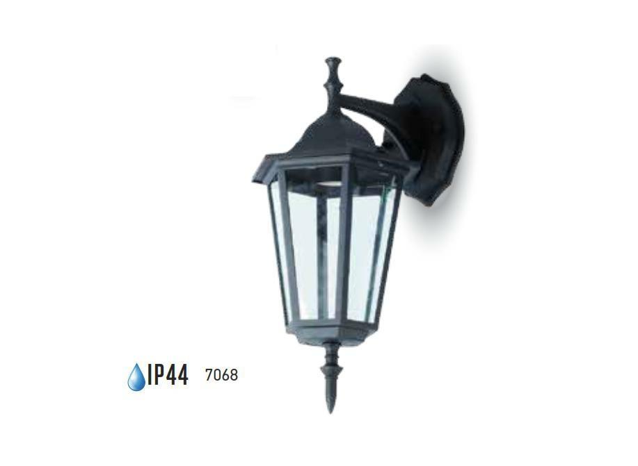 Applique venexia modello lanterna di vetro soffiato cm
