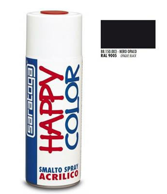 BOMBOLETTA SPRAY NERO OPACO RAL 9005 ML.400