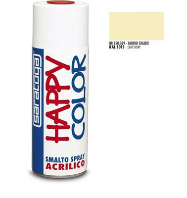 BOMBOLETTA SPRAY AVORIO CHIARO RAL 1015 ML.400