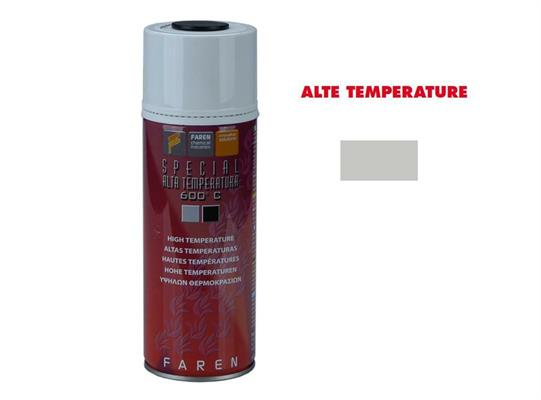 BOMBOLETTA SPRAY ALTA TEMPERATURA ALLUMINIO 400ML.